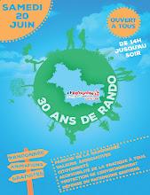 Photo: Anniversaire : les 30 ans du comité de la randonnée pédestre Coeur Val de Loire - Loir-et-Cher