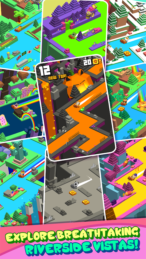 Splashy Cats: Endless ZigZag!- screenshot