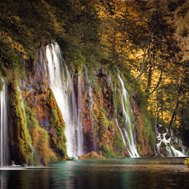 Plitvice by Dado Barić - Landscapes Waterscapes ( plitvice )