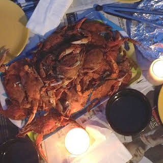 Maryland Steamed Crabs.