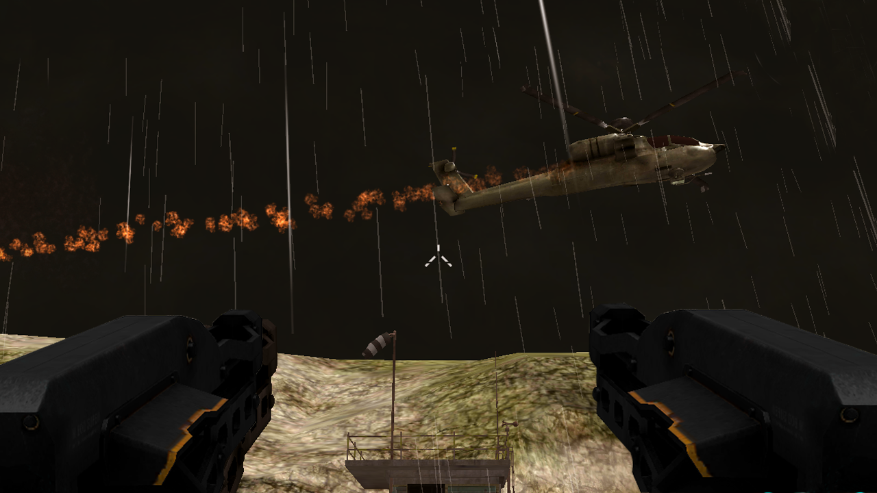 Gunship Helicopter Battle Strike: Extreme War- screenshot