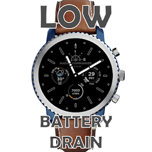Marine Commander Watch face - náhled