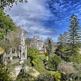 Quinta da Regaleira by Julio Cardoso - Buildings & Architecture Public & Historical ( palácio, capela, quinta da regaleira, sintra, portugal, carvalho monteiro )