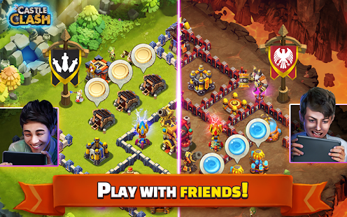 Castle Clash: Brave Squads Screenshot