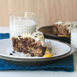 Skillet Zucchini Bread with Chocolate Chip Streusel.