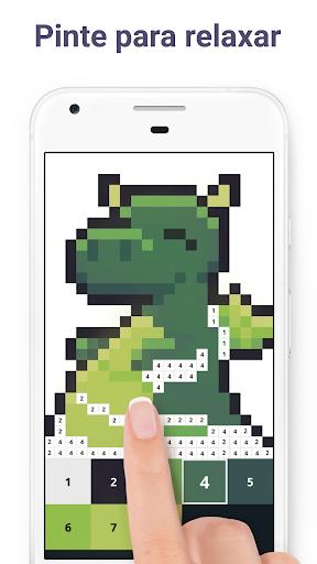 Pixel Art - Livro para colorir por números