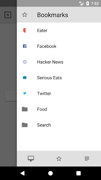 Lightning Browser Plus Screenshot Image