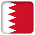 Selfie with Bahrain flag icon
