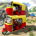 Double Tuk Tuk Auto Rickshaw Driving Simulator 3d icon