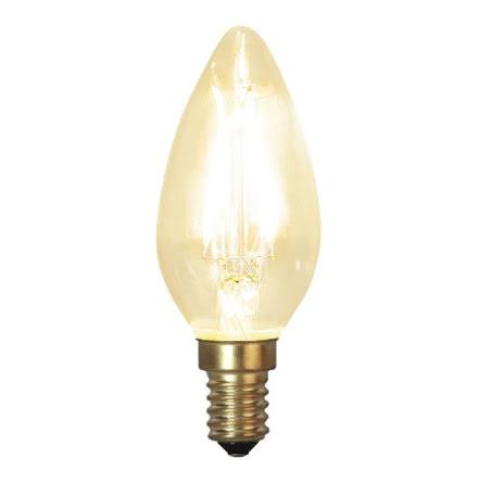 Decoration LED Klar filament lampa Kron E14 2100K 120lm