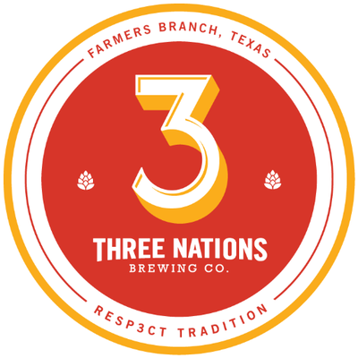 Logo of 3 Nations Texas Gold/Green