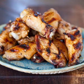 Grilled Honey Miso Wings.
