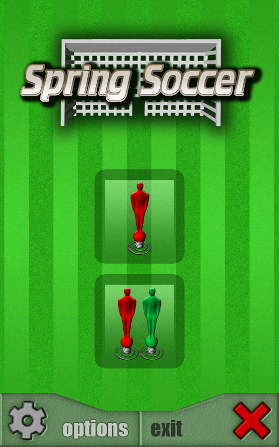 Ποδοσφαιράκι με ελατήρια - στιγμιότυπο οθόνης
