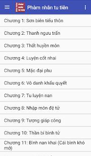 Phàm nhân tu tiên Truyện tiên hiệp full offline - náhled