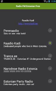 Rádio FM Estonian zdarma - náhled