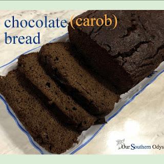 Delicious Gluten-Free & Dairy-Free Chocolate (Carob) Bread.