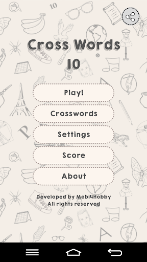 CrossWords 10  screenshots 1