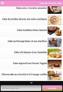 Livre de recettes cake - náhled