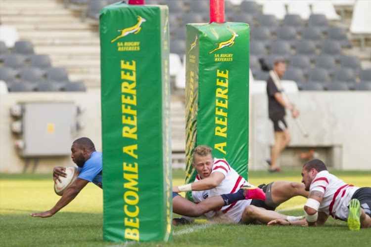 Bulls vs Lions during the Interprovincial Sevens held at Mbombela Stadium on October 22, 2016 in Nelspruit, South Africa.