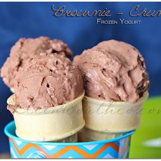 Brownie Chunk Frozen Yogurt.