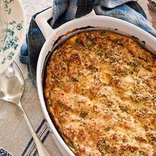 Prosciutto & Asparagus Strata Recipe