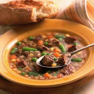 Heartburn-Friendly Vegetable Beef Stew.