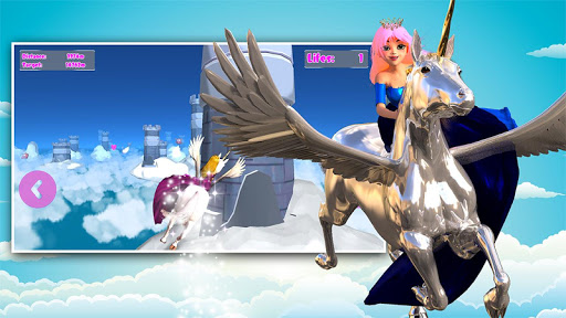 Princess Unicorn Sky World Run