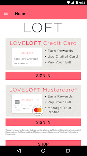 LOFT Card- screenshot thumbnail