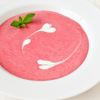 Strawberry Soup.