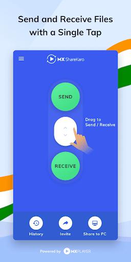 MX ShareKaro App: Share, Send & Receive Files 1.6.4 Screenshots 1