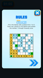 Zen Sudoku Game - 9x9 Puzzles Free- screenshot thumbnail