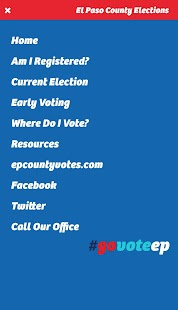 El Paso County Elections Department- screenshot thumbnail