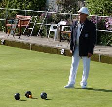 Photo: Colin Docksey- Marker in final match.