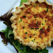 Oven baked quiche