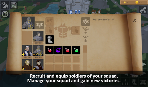 Warriors of medieval walls MOD APK [Unlimited Money + Mod Menu] 3