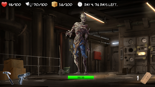 Overlive LITE: A Zombie Survival Story and RPG 70.0 Android Mod APK 3