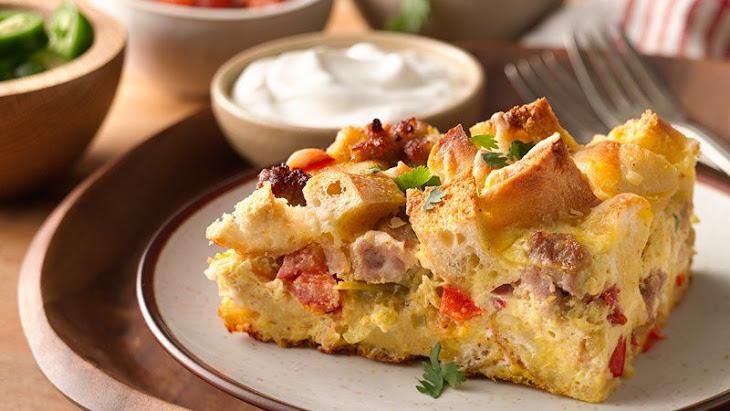 Southwestern Egg Casserole Recipe | Yummly