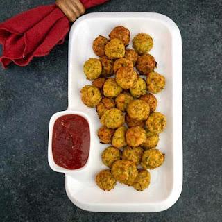 Easy Cheesy Zucchini Bites Recipe