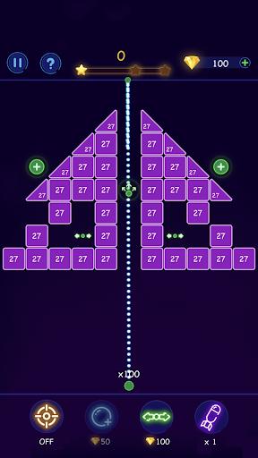 Bricks Breaker - Ball Crusher android2mod screenshots 3