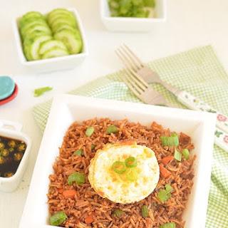 Nasi Goreng ~ Indonesian Fried Rice.