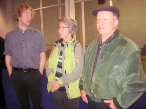 Photo: Unser musikalischer Leiter Simon Dettwiler mit seinen Eltern Marianne und Peter.