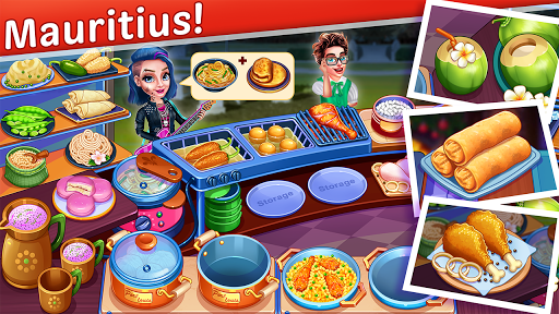 Cooking Express : Star Restaurant Cooking Games apklade screenshots 1