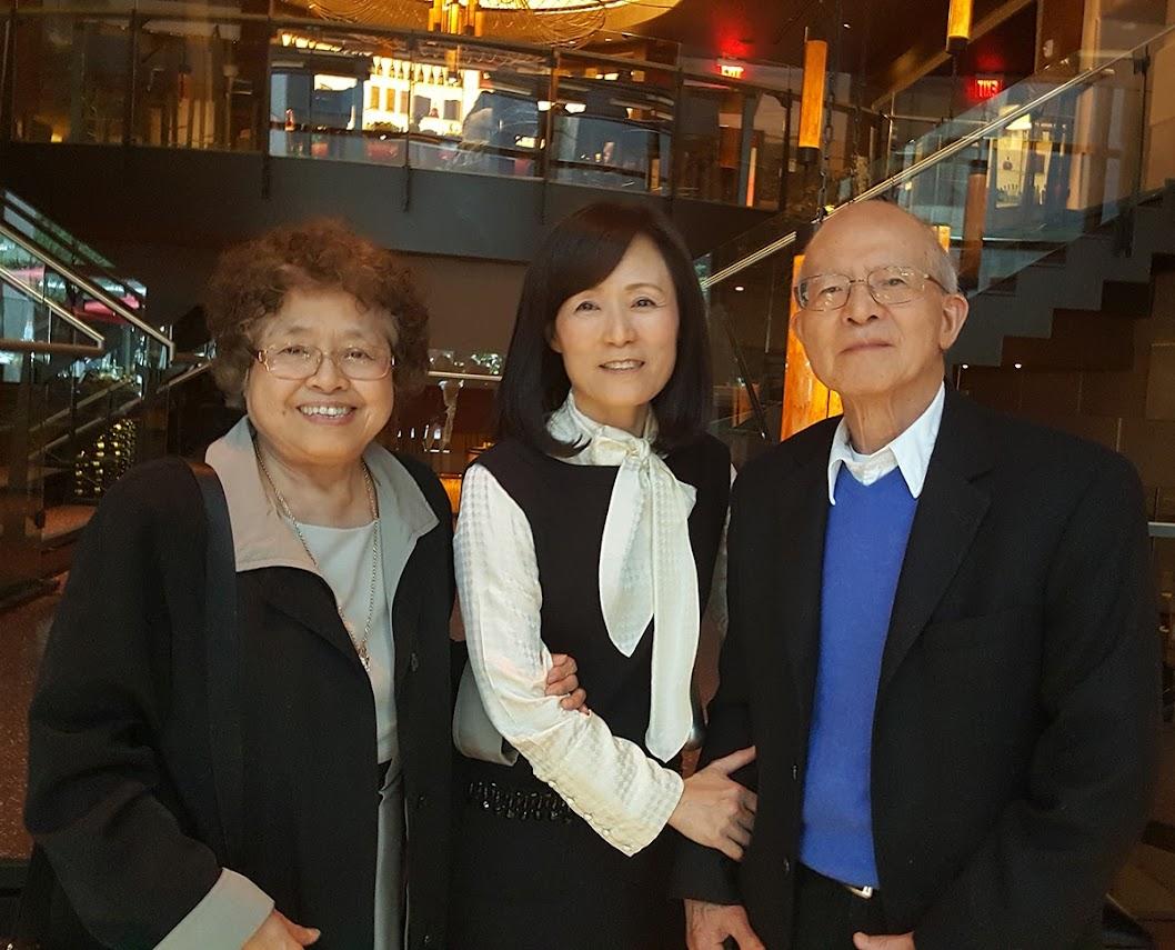 蘇校長和陳玲子吳武田夫婦