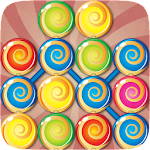 Candy Collapse Sweet Lollipop Icon