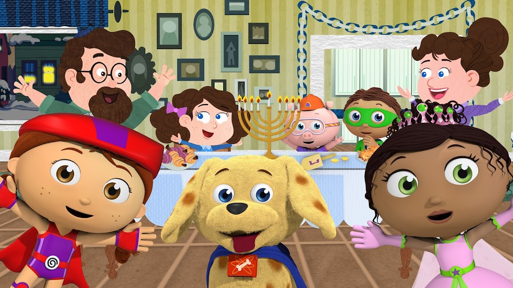 SUPER WHY! - Judith's Happy Chanukah, part of PBS KIDS holiday & Christmas programming for 2015