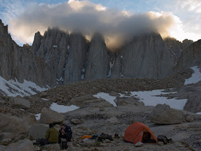 Photo: Mt. Whitney base camp