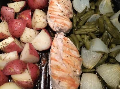 "Green Beans, Chicken breasts and Red Skin Potatoes ""This dish is so..."