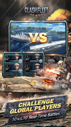 Clash Fleet[10 vs 10 real-time fleet battles]  captures d'écran 2