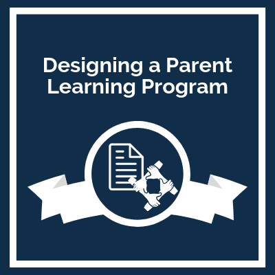 Course Icon: Designing a Parent Learning Program