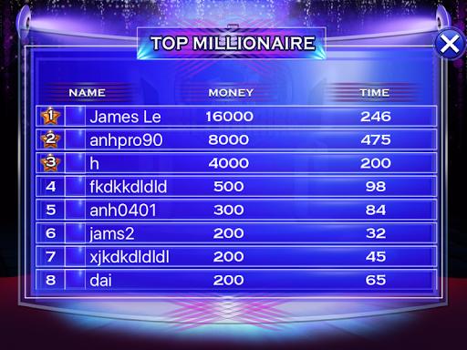 Millionaire Quiz 2018 - Trivia Game Free 2.3 screenshots 11